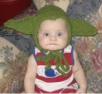 Funny baby halloween costume with a big ear hat.PNG