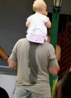 Funny baby pictures of baby girl sitting on daddy shoulders.PNG