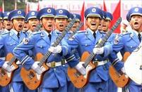 Funny pic of a bunch of uniformed men holding guitars.jpg