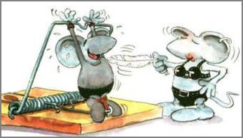 funny cartoon photo with two mouse having fun in their fancy land.jpg