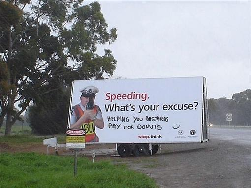 Funny vandalized speeding warning sign.jpg