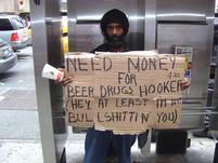 Homeless man is being honest.jpg