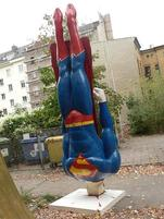 Superman crash landing statue.jpg